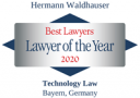 Waldhauser Lawyer of the year 2021